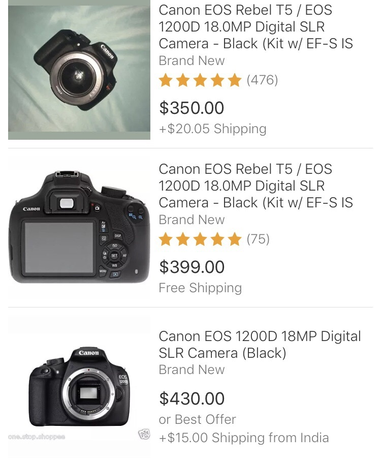 Which Camera Is The Best Between Canon 350d And Canon 1200d