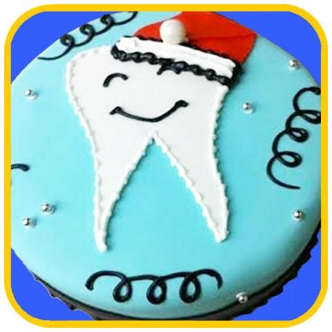 If Your Girlfriend Is A Dentist One Thing You Can Definitely Gift Her Themed Cake Contact Cakefite They Make These Kind