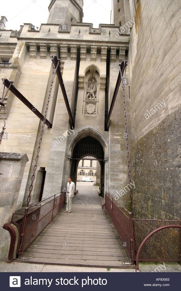 Gates were often used in conjunction with a portcullis a framework that was lowered from above. As such it could not be forced inward like a gate could. & Did the gates on medieval castles/cities open inwards or outwards ...