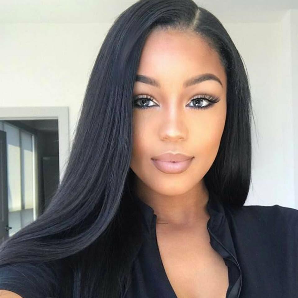 3/4 Bundles With Closure Initiative Loose Deep Wave Bundles With Closure Raw Indian Human Hair Weave Bundles With Lace Closure Gem Beauty Remy Hair Extensions #1b