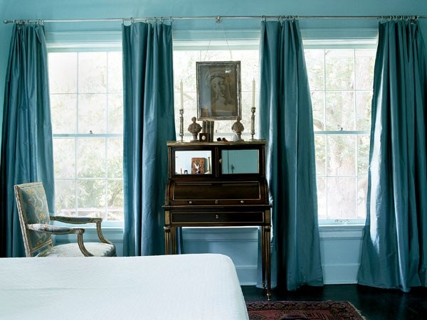 Which Colored Curtains Go With Light Blue Walls Quora