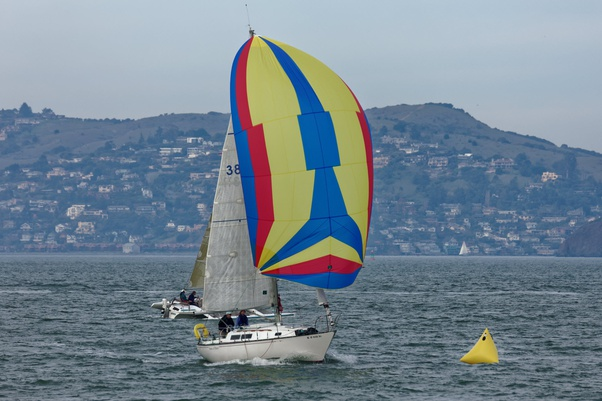 While Sailing Downwind How Do You Prevent An Accidental Gybe Quora