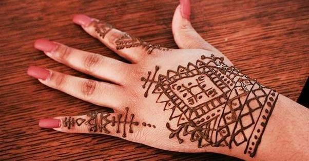 Mehndi For Thumb : What are some good henna designs for beginners quora