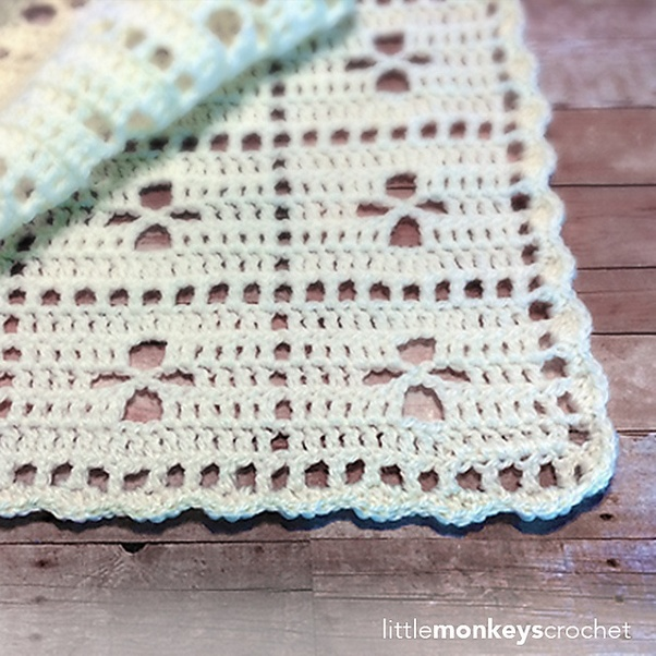 What are some easy baby blanket crochet patterns? - Quora