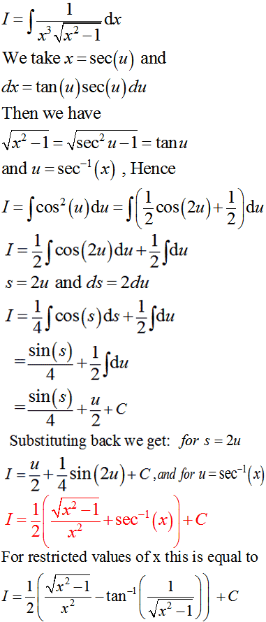 how to find the integral of 1 x 3sqrt x 2 1 quora