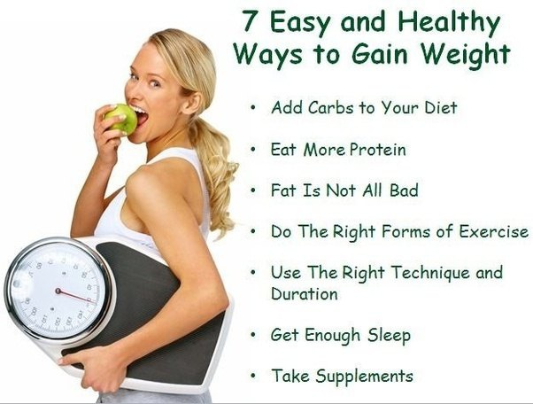 How to gain healthy fat - Quora