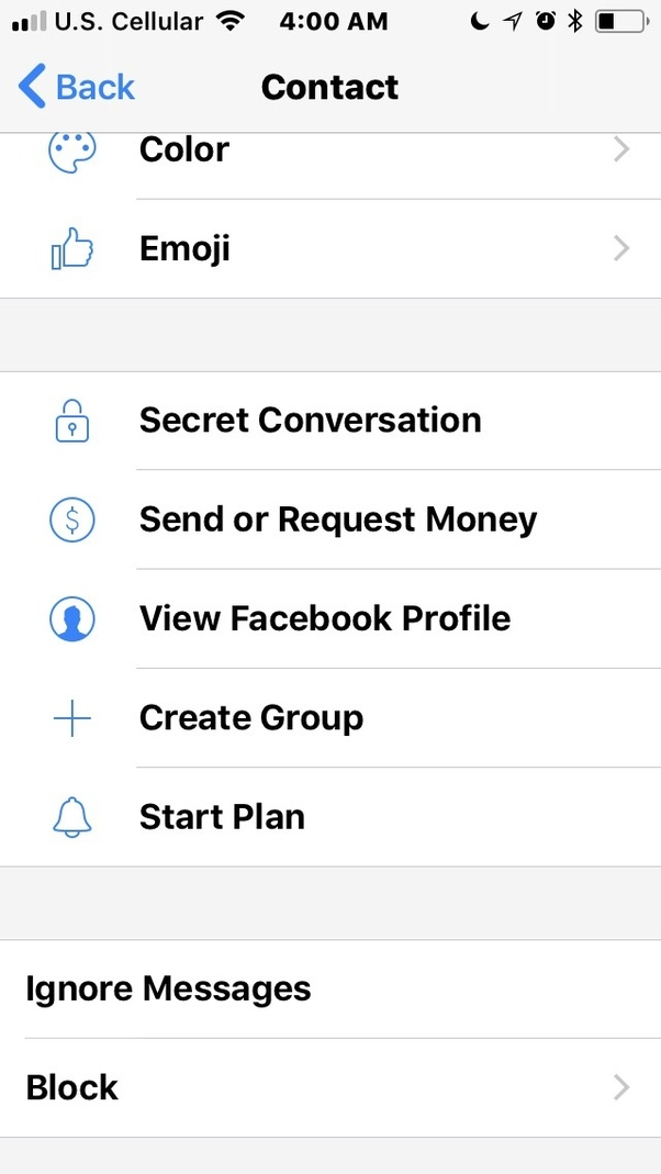 How to delete a person in the desktopwindows messenger app if you blocking via messenger means they are locked in sending messages but not on facebook ccuart Choice Image