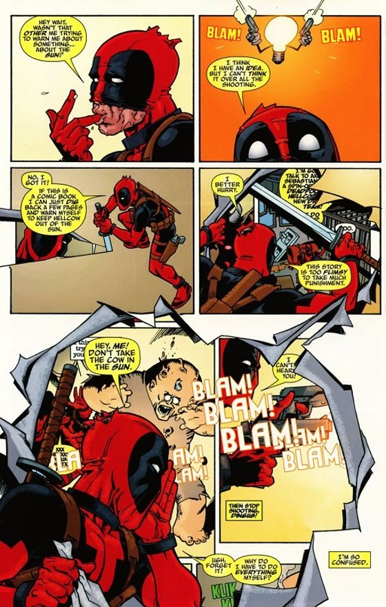 do comic book superheroes read comic books about superheroes in