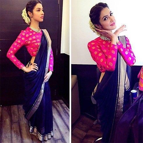 You Can Wear Chanderi Saree
