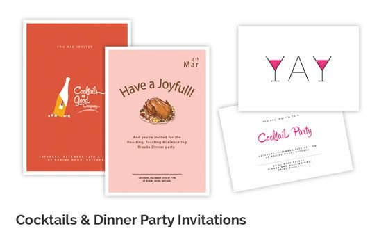 Design An Invitation Card For A Party