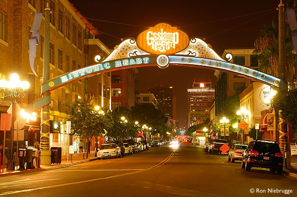 The Wonderful Gas Lamp Quarter/District In San Diego Was Actually Called  The  Pictures Gallery