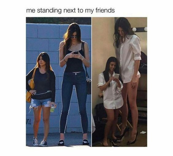 3 is short 5 Is 5'4