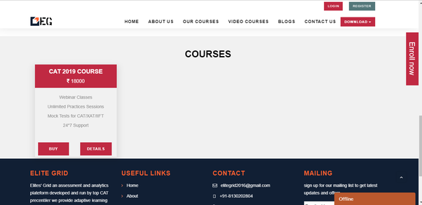 Which online course is best - Alphanumeric, 2IIM, Elite's