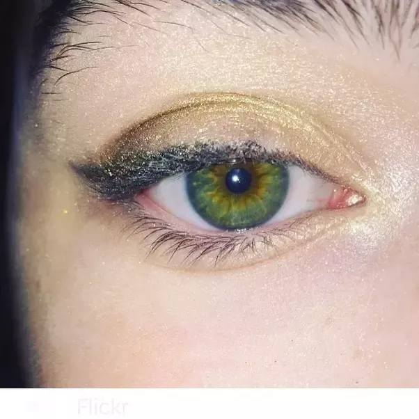 Nice I Recently Took A Picture Of My Eyeu2026 Iu0027ve Been Curious About What Colour My  Eyes Predominantly Are Because As You Can See In The Picture They Are Both  Green ...