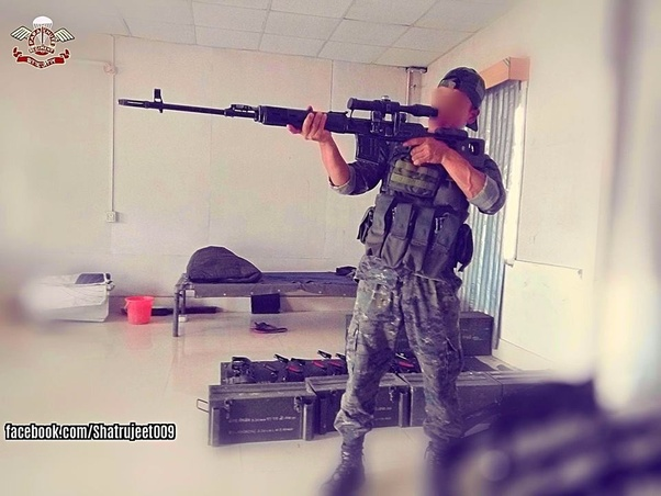 What are the sniper rifles used by your country's military