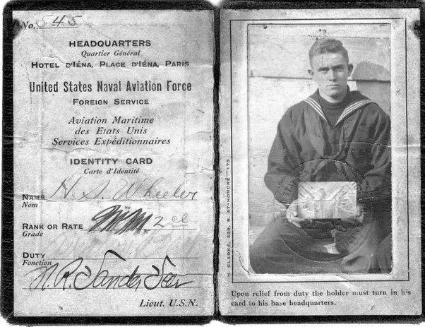 What Does The Original Us Military Id Card Look Like Quora