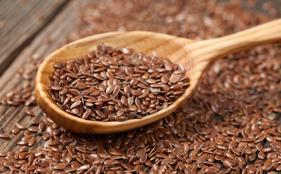 Does the consumption of flaxseed reduce testosterone levels
