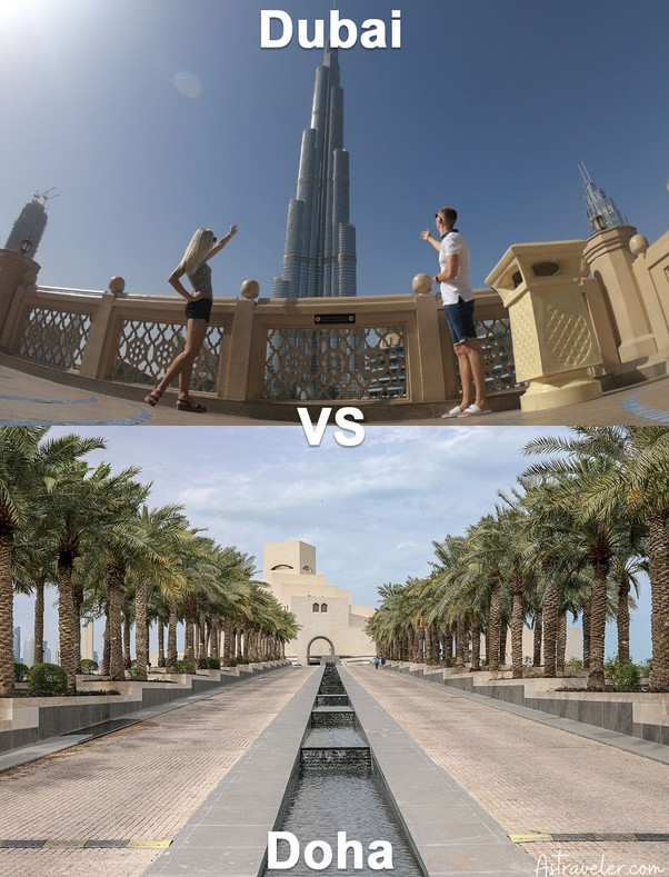 What are the main differences between Doha And Dubai? - Quora