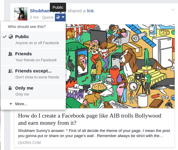 How To Hide All Past Facebook Posts From A New Friend