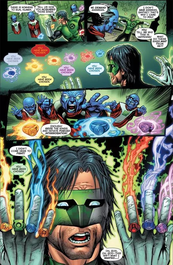 Kyle Rayner Green Lantern Ring