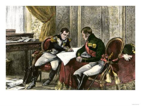 alexander i and napoleon A short biography (with portrait) of alexander i (1777-1825), tzar of russia from 1801 to his death.