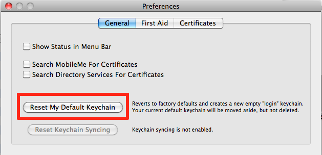 how to recover your mac keychain password