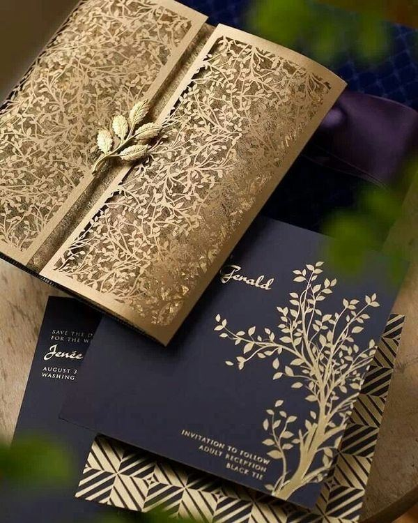 Different is good wedding invitations