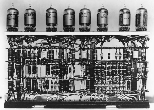 The first generation of computers. Also the first one ever built: The vacuum tubes.
