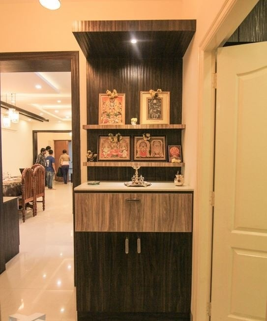 Living Room Cabinet Design In India: What Are Some Best Pooja Room Interior Designs?