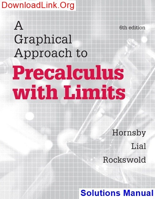 Where can I find Graphical Approach to Precalculus with