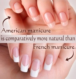 The American Manicure Is A More Natural White Almost Sheer Ivory And But Brighter Pink Than French Was Invented By