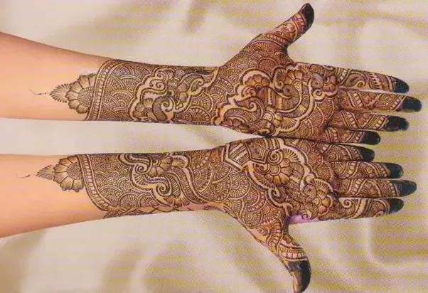 Mehndi Hands Png : Weddings where i found a good bridal mehndi design quora