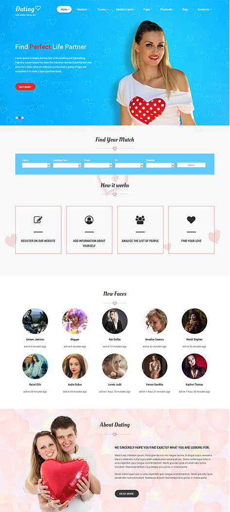 Datebook - dating wordpress theme nulled