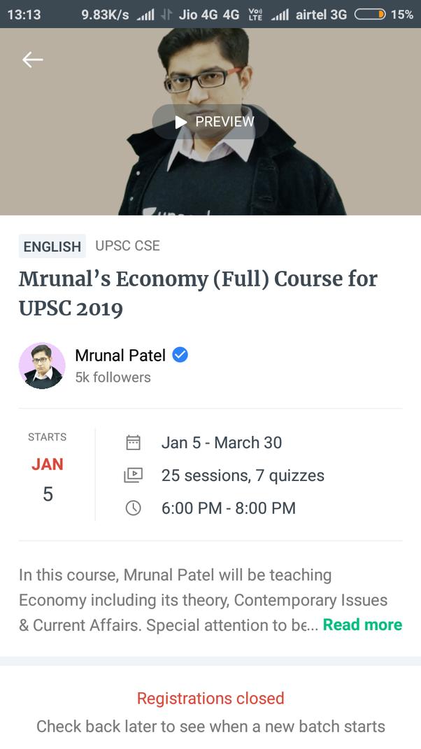 Mrunal Economy Quora - Best Description About Economy