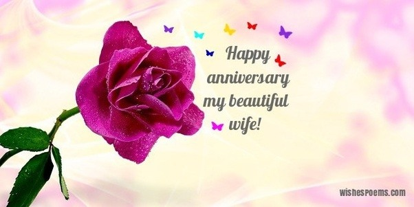 Wedding anniversary gift for wife
