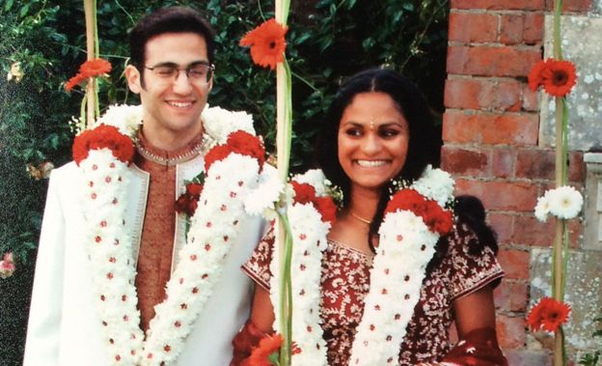 Indian girl marrying white guy