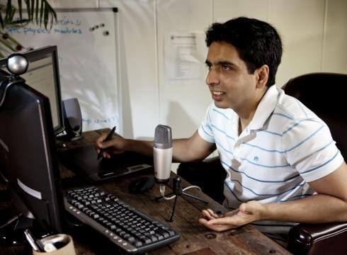 how to make video lessons like khan academy