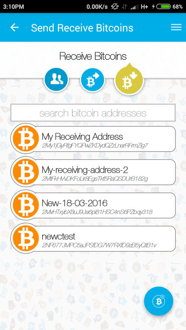 Is it possible to change a bitcoin address in zebpay quora click on the receive bitcoin logo you can see the option at right bottom click that and youll get a new address ccuart Gallery