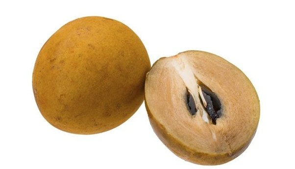 It Is Called As Sapota Fruit