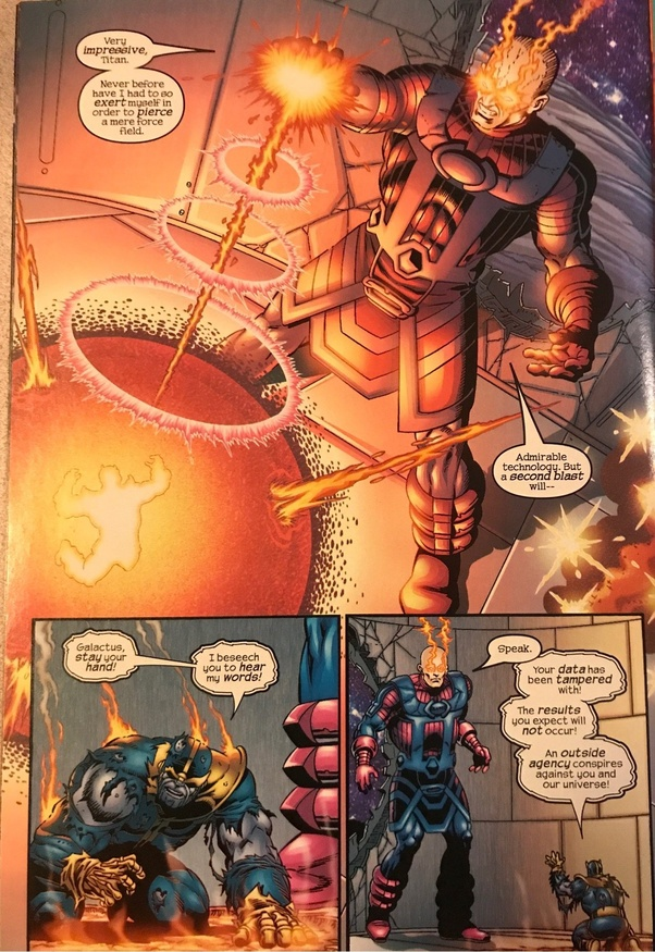Who Would Win In A Fight Between Galactus And Thanos Quora