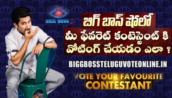 Where and how can I vote my favorite contestant in Bigg Boss