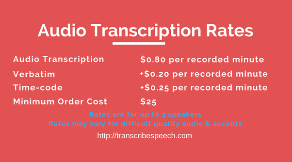 transcription service because we operate on transparent pricing whatever your requirements are legal business academic media or scientific research