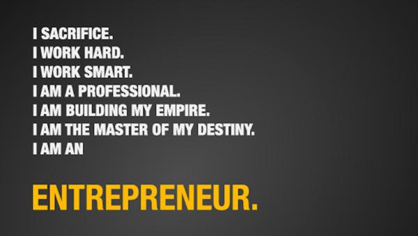 起業家の引用符である