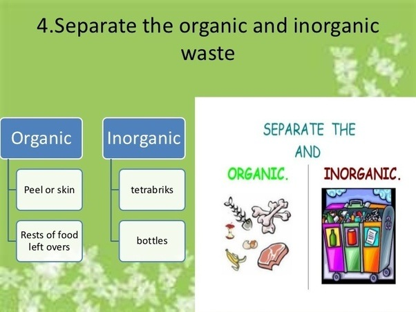 What Does Organic Inorganic Waste Mean Quora