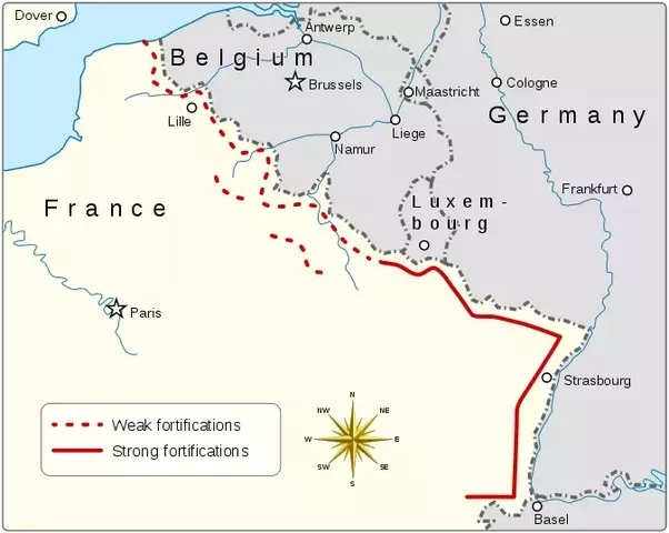 What if france had extended the maginot line to belgium before world i would really like to see what would happen with the germany army slamming into the maginot line instead of slipping through the ardennes gumiabroncs Choice Image