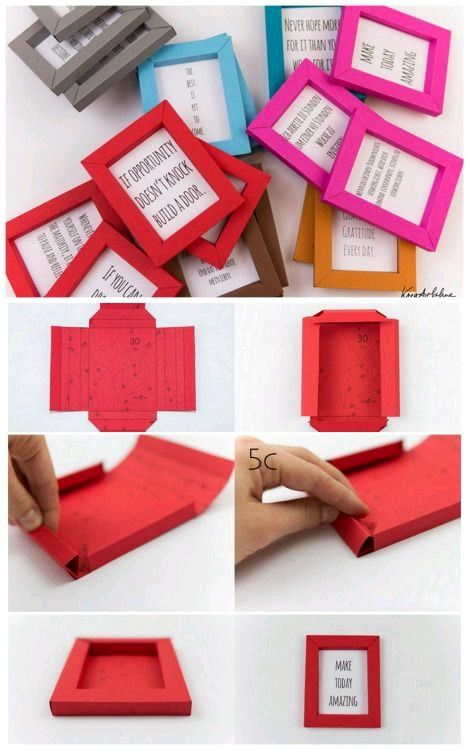 What is the best paper craft you have done using single color sheets ...