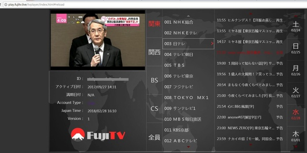 What tv channels do you get in Japan? - Quora