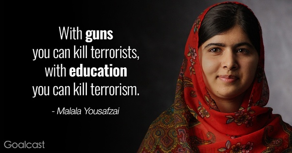 Can we conquer terrorism and extremism by education? - Quora