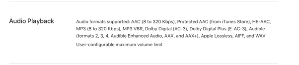 Does iPhone 6S support Dolby Digital Sound? - Quora