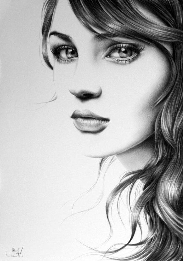 Ileana hunter is a talented artist who decided to learn how to create realistic pencil drawings on her own without resorting to any drawing classes